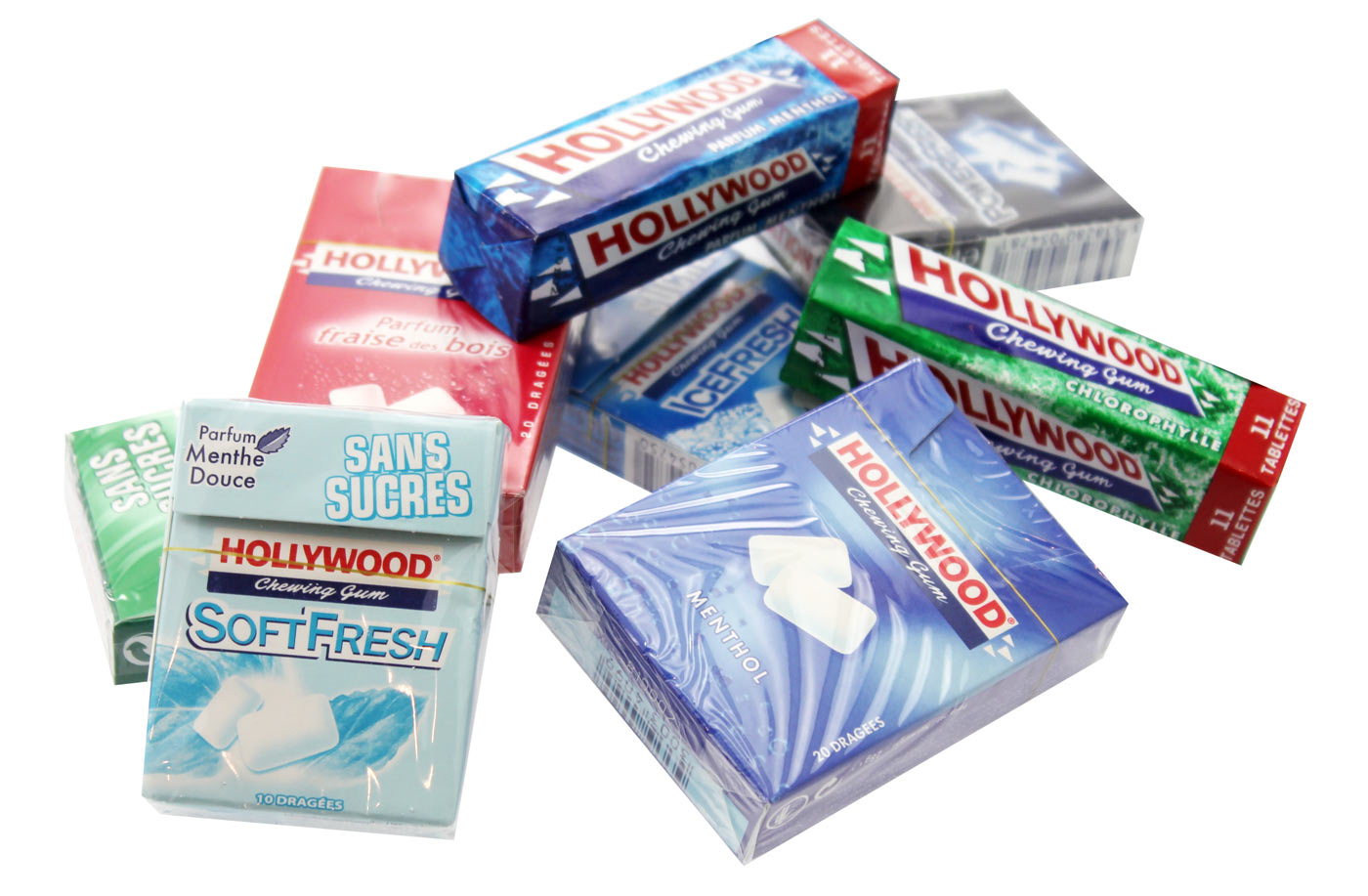 Hollywood Chewing-gums | FRIANDIZ.COM | Friandises, Bonbons, Chocolats ...